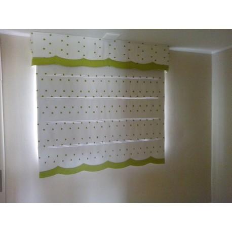 Estor cortina estor estor de cocina confeccionan estor - Estor con cortina ...