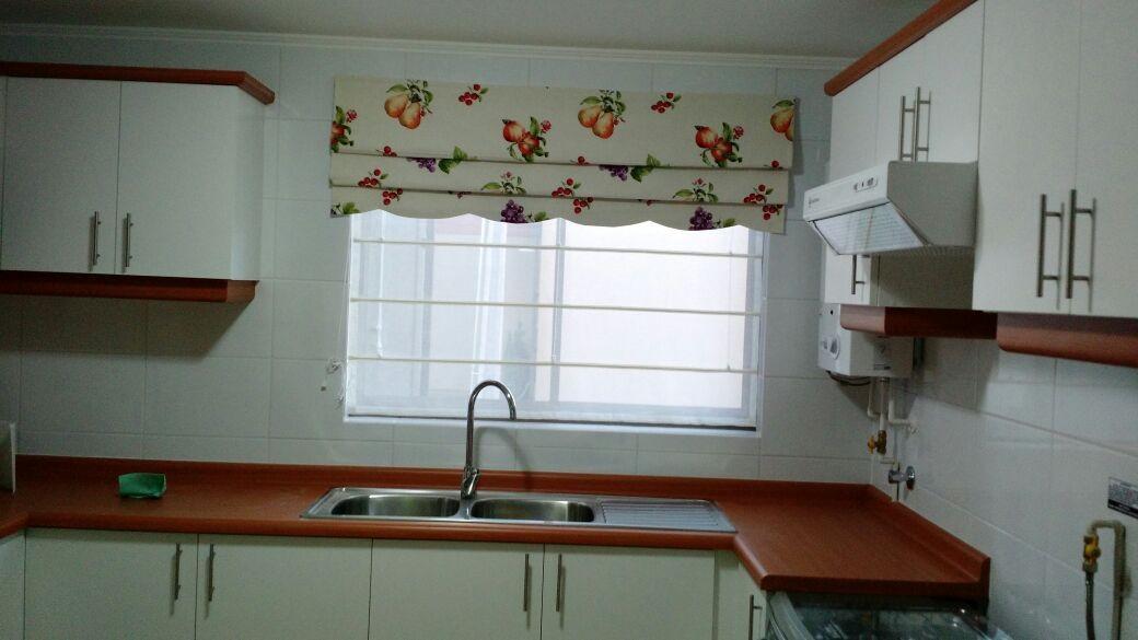 Cortinas screen cocina amazing cortina para cocina for Cortinas para cocina gris